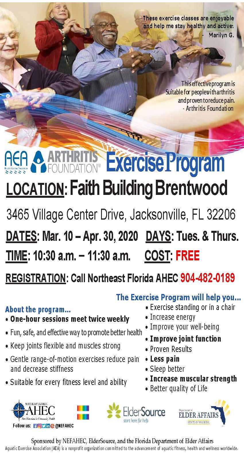 arthritis foundation exercise program cum să întinzi articulațiile genunchiului